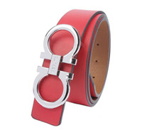 Mens Horse Hoof Buckle PU Leather Belt Waistband