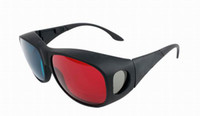 Wholesale New D Stereo Glasses AC Lens PC Eyeglasses Frame For Game Movies ZUT