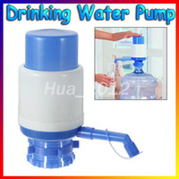 Eco-Friendly Water Bottles  Free Shipping Bottled Drinking Water Hand Press pressure Pump 5-6 Gal With Dispenser Home Outdoor Office Camping