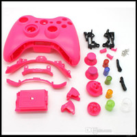 For Xbox   Colorful Game Accessory Plastic Case Cover Shell for Joystick with Buttons Kits for XBox 360 Controller One