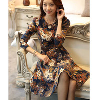 Wholesale Details about Women s Long Sleeve Floral Bodycon Evening Party Cocktail Dress Summer Sundress