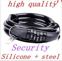 Wholesale Security Anti Theft Steel Bicycle Lock with Password hot sale latest hight quality