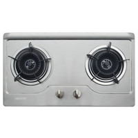 Wholesale Gas stove cooktop HEIGOO Home security grade brushed stainless steel gas cooktop