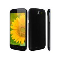 "Original DG500C Doogee 5.0 ""teléfono celular Quad Core Android 4.2 OS 1GB + 4GB GPS WCDMA 3G MTK6582 abrió el móvil elegante IPS pantalla QHD pulgadas"