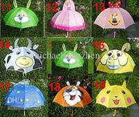 Umbrella animal kids umbrella - 28 styles Cartoon animal sun umbrellas for school gifts Child children kid