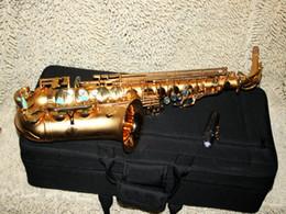 Wholesale CTE Grind arenaceous Golden color Alto Saxophone ALTO SAXOPHONE