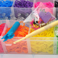 Cheap Jelly, Glow Rainbow Loom Kit Best Free Happy Children's DIY Rubber Wrist