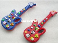 Wholesale Hot sale Children s plastic toys electronic music guitar kids toy Keyboard with nursery rhymes