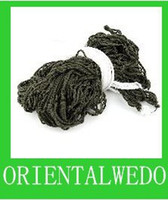 Wholesale Army Green High Strength Nylon Meshed Hammock Camping Yard Sleeping Lounge Hanging Bed cm top sale