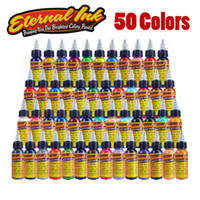 Wholesale New Tattoo Ink Set Colors oz ml Bottle Tattoo Pigment Kit