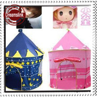 0-10Y Unisex  2014 Free shipping Children Kids Play Tent toy game play house princess castle palace baby beach tent
