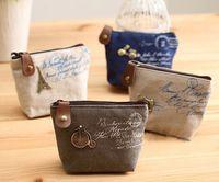 mini purses - New Vintage Zipper Coin Purse Lovely Coin Bag Silicone Money Bag Purse wallets Mini bag DHL