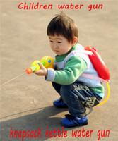 Gun Model Toys pistols - Children toys water gun Backpack air pressure water gun cap pistol cap gun