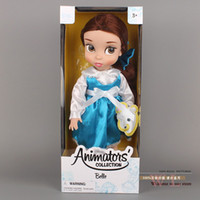 Wholesale Animators Collection Princess Belle Doll PVC Action Figure Girls Dolls Toys Gifts quot CM DSFG028