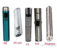 Cheap E cigarette Variable Voltage Itaste SID Telescopic Mechanical Magneto itaste Svd Vamo v5 mod Chi You mod Dhl Free Shipping