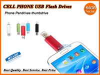 Wholesale Epacket Smart Cell phone pendrives GB GB USB Flash Drive Thumbdrie pen drive U disk OTG external storage micro usb memory stick