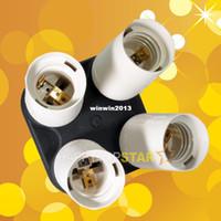 For Canon ac slave flash - E27 E26 in X Sockets AC Power Splitter Light Lamp Bulb Adapter Converter fr Video Photo Studio Slave Flash Continuous CFL