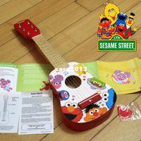 Wholesale Sesame street child guitar toy guitar wooden guitar baby guitar