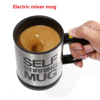 Wholesale Automatic Electric Self Stirring Mug Coffee Mixing Drinking Cup Stainless Steel ml a305