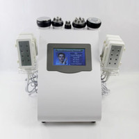 Wholesale NEW ARRIVAL IN1 Ultrasonic Cavitation Radio Frequency Vacuum RF Lipo Laser Slimming Machine Weight Loss