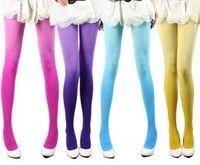 Wholesale Women socks Sexy nylon stocking Candy colored stockings High stockings
