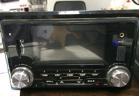 Wholesale Double Din Deckless Car MP3 Radio USB SD Player Fixed Panel BT subwoofer remote control ISO Calendar Sub woofer line out colors LED