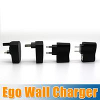 Wholesale Hot Sale US EU UK AU AC Power Wall Charger Adapter for ego c ego t ego f ego w ego series Electronic Cigarette E Cigarette goodwillbiz