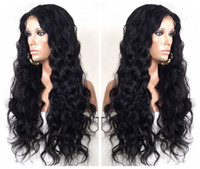 Wholesale Fabulous Deep Full Lace Wig Best Swiss Lace Remy Human Hair by DHL