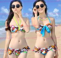 Women Bikinis as picture  Brand quality goods Fashion sexy bikini colorful printing,skirt beach hot spring bathing suit ,swimsuit,dowknot swimwear