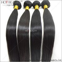 Wholesale 7 Days Return Guarantee One Donor Young girl brazilian virgin hair straight human hair weaves
