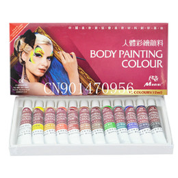 Wholesale 2014 World Cup12ml color Face Paint Colored Drawing Body Paint