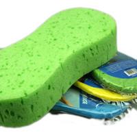 Wholesale 18 cm Curve Eight Honeycomb Car Cleaning Sponge Washing Clothing for Washing RY1416