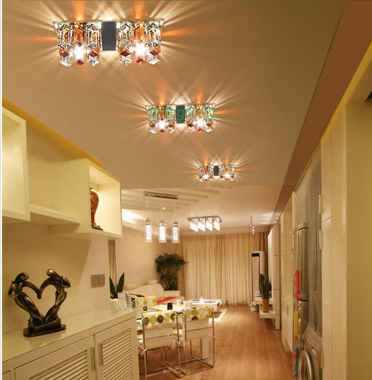Foyer Recessed Lighting : Rectangle passageway lights flush recessed ceiling