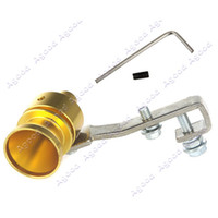 Wholesale Car Turbo Sound Whistle Muffler Exhaust Pipe Tailpipe Auto Blow off Valve Simulator M