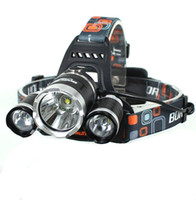 Wholesale 5000 lumen x CREE XM L T6 LED Headlamp Headlight Head light torch Lamp flashlight head for hunting camping free ship