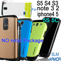 For Apple iPhone Plastic For Christmas SLIM TOUGH ARMOR SPIGEN SGP TPU + PC Case for galaxy S5 i9600 S4 i9500 S3 i9300 note 3 N9000 2 N7100 iphone 4 4S 5 5S 5C no retail package