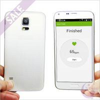 Wholesale 1GB GB S5 SM G900 Quad Core MTK6582 Heart Rate Detection USB Air Gesture GPS WiFi G WCDMA Micro Sim Card MP Camera Smartphone