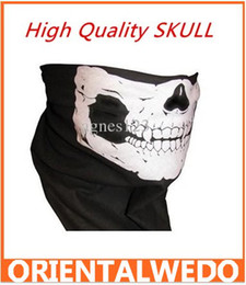 Wholesale New High Quality SKULL FACE BANDANA Mask Headwrap Motocyle Paintball