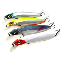 Wholesale fishing lures long tail of soft package of lead fish luminous sea fishing tackle soft bait bass hook cm g