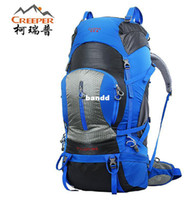 Wholesale Outdoor Mountaineering Double shoulder Hiking Bagpack L Capacity Tactical Climbing Backpack outdoor camping hiking backpack