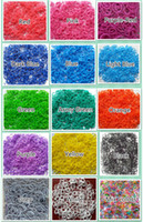 Wholesale E_supplier Rainbow Loom Charma kit Magical Colorful Loom Kit DIY Toys Set Mix Colour bands S C Clips crochet hook