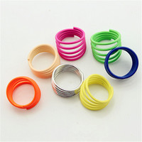 Band Rings South American Women's Fluorescent Multil Rings Elegance Vigour Female Fashion Jewelry Above Knuckle Ring Band Midi Ring NL023