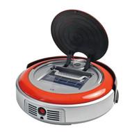 Wholesale 2 In Orange color Multifunctional Robot Vacuum Cleaner Auto Vacuum Auto Mop Sweeper mop features automatic vacuum cleaner