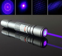 Wholesale purple blue purple laser pointer nm high powered Focusable laser burning Matches with light cigarette