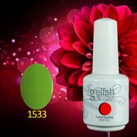 Led uv gel gelish polish - ML Gelish Nail Polish Soak Off UV Gel polish Fashion Colors