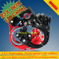 Wholesale The Newest Original Z3x box For Sam amp Lg Activation with cable set Repair unlock flash damaged IMEI SN Bluetooth etc New update S5