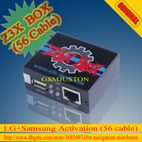 Wholesale 100 Original Z3x box For Sam amp Lg Activation with cables set Repair unlock flash damaged IMEI SN Bluetooth etc