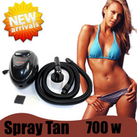 Wholesale FedEx UPS DHL Good Quality HVLP W SPRAY TAN MACHINE Sunless Tanning Airbrush Good Warranty