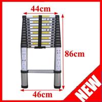 Wholesale FedEx UPS DHL 12 Ft amp M Multi Purpose Extension Aluminum Telescopic Telescoping Ladder