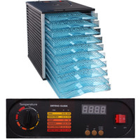 Wholesale FedEx UPS DHL 10 TRAY FOOD PRESERVE DRYER DEHYDRATOR TIMER VEGETABLE PRESERVE